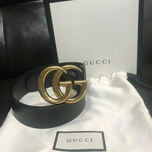 Gucci GG Belt Size 75